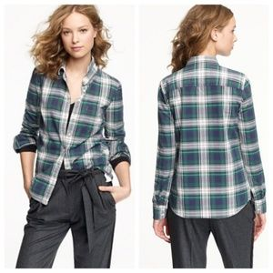 J. Crew Boy shirt in Carrick Tartan